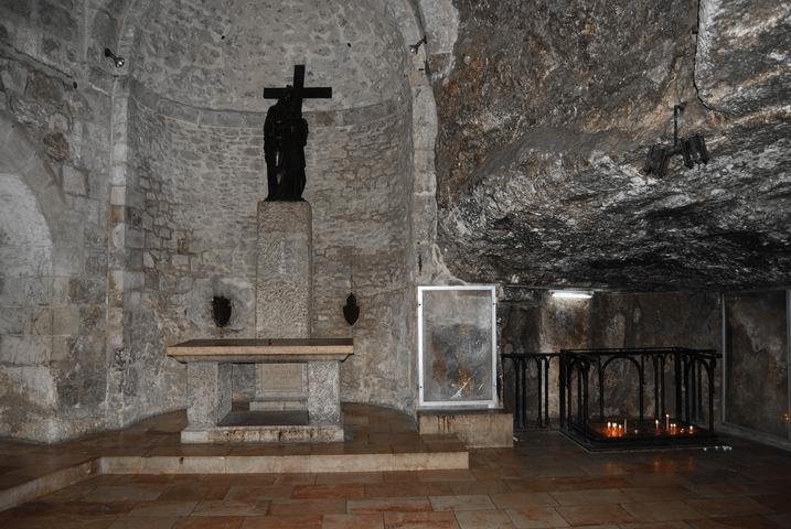 chapelle invention vraie croix hélène saint-sépulcre Jérusalem