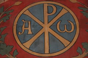 chrisme croix chrétienne