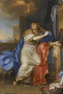 Marie-Madeleine renonçant aux vanités du monde Lebrun