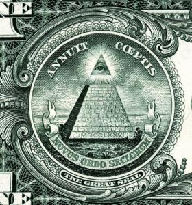 oeil billet 1$