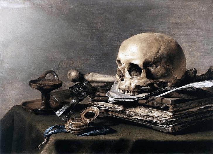 Pieter claesz nature morte
