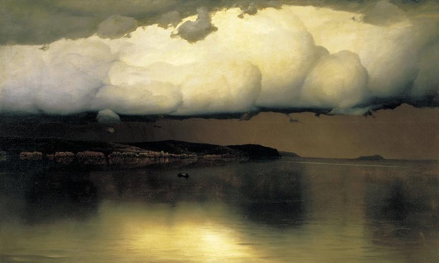 Nikolaï Doubovskoï le silence peinture