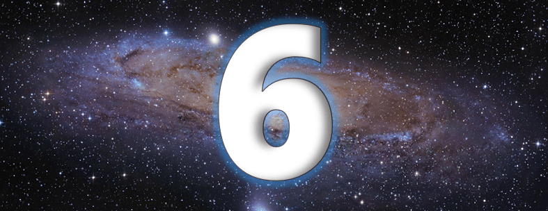 le symbolisme du chiffre 6