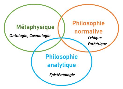 différentes branches philosophie