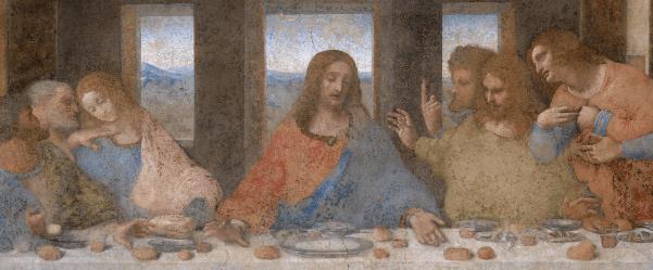 la cène léonard de vinci calice saint graal