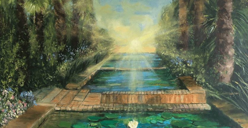 4 fleuves du jardin d'éden