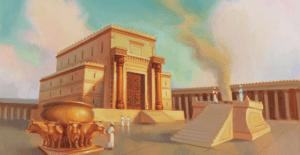 temple de salomon plan