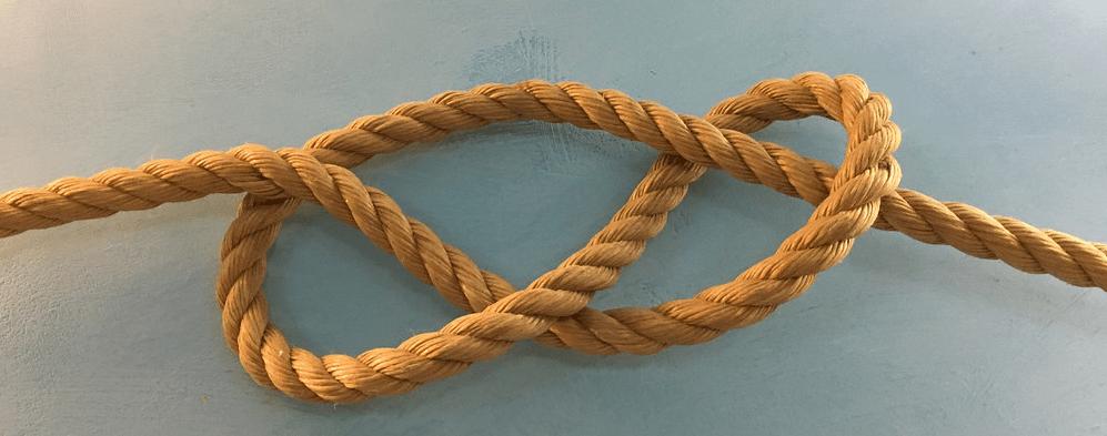 corde à noeuds franc-maconnerie lacs damour